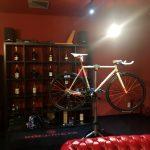 自転車屋さんで⁈