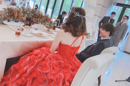 結婚式参列してきました💛